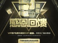 腾讯网游加速器VIP感恩回馈,免费升级超级SVIP 腾讯网游加速器VIP 免费会员VIP 优惠福利  第1张